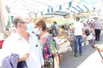 Messina, il mercato di Giostra riparte con maschere e gel