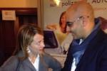 Michele De Simone con Giorgia Meloni