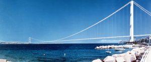 Il progetto del ponte Sullo Stretto