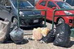 In tilt i controlli sui rifiuti a Vibo, sacchi neri ammassati sulle strade