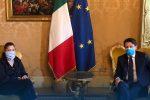"""Fase 2 in Calabria, la Santelli incontra Conte: """"Sinergia tra Governo e Regione"""""""