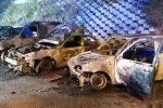 Messina, intimidazione nella notte al PalaRescifina: in fiamme 5 auto sequestrate dai vigili
