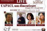 Strage di Capaci, diretta streaming della «Strada degli Scrittori» con don Ciotti e Padovani