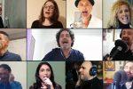 """Performance a distanza per 11 artisti siciliani: il videoclip di """"Canto per te"""""""