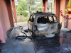 Incendio doloso a Mazzarrà Sant'Andrea, fiamme distruggono auto
