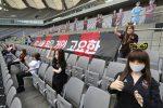 Bambole gonfiabili sugli spalti al posto degli spettatori, multa record a squadra coreana