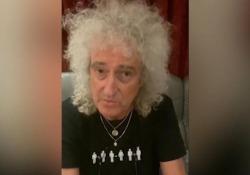 Brian May dei Queen ai fan: «Ho avuto un infarto» Il celebre chitarrista dei Queen parla su Instagram del malore che ha avuto - Ansa