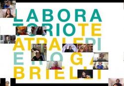 «Chiuso dentro casa», il primo maggio in musica del laboratorio teatrale Gabrielli - Corriere Tv