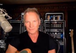"""Concerto Primo Maggio, Sting: «Voglio celebrare i lavoratori d'Italia» Il cantante si è poi esibito con """"Don't stand so close to me"""" - Ansa"""