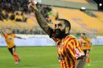 Ciccio Cosenza con la maglia del Lecce