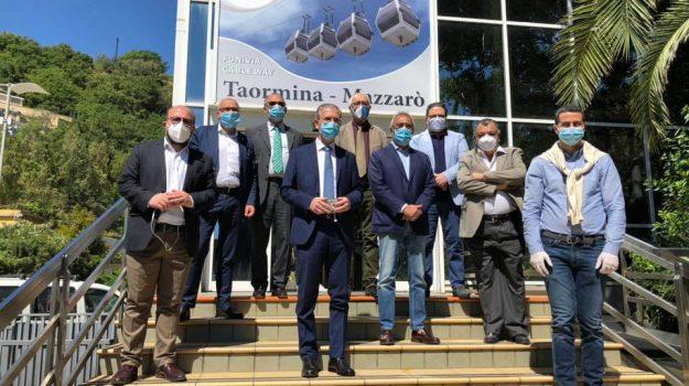 """Taormina, Falcone: """"Riaccendiamo la funivia, in sicurezza e rispettando distanze"""""""