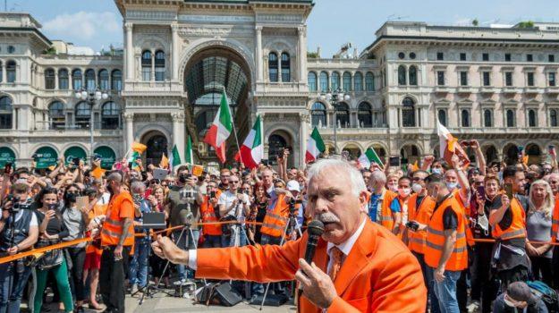 coronavirus, gilet arancioni, protesta, Sicilia, Cronaca