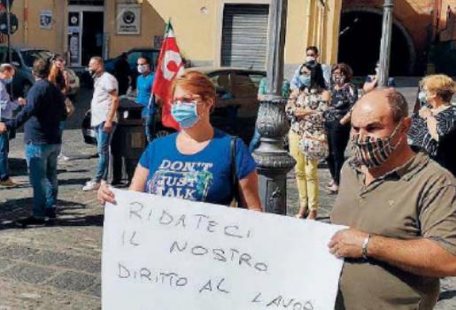 lavoro, sit-in, Catanzaro, Calabria, Economia