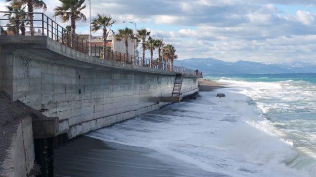 capo d'orlando, erosione costiera, Messina, Sicilia, Cronaca