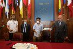 """Fc Messina, consegnate al Comune le """"mascherine della discordia"""""""