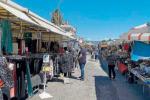 Soverato, riapre il mercato degli ambulanti: distanze, mascherine e gel