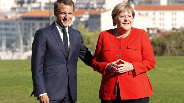 euro, unone europea, angela merkel, Emmanuel Macron, Matteo Salvini, Sicilia, Mondo