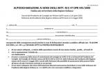 Fase 2, il modulo di autocertificazione per la Sicilia: c'è la voce sulle seconde case