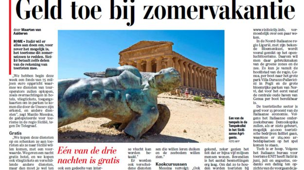 a coronavirus, turismo, Sicilia, Mondo