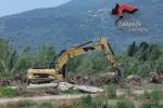 Lamezia, disboscato oltre un ettaro di pioppeto lungo il fiume Amato: tre denunce
