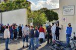 Le partite Iva protestano a Messina, momenti di tensione davanti alla Protezione civile