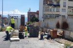 Discariche per strada a Messina a San Licando e a fondo Lauritano - Foto