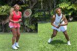 Serena Williams gioca a tennis contro... se stessa: il video su TikTok è un successo