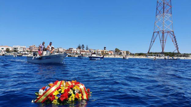 Messina, a Torre Faro barche in mare per ricordare Giuseppe Sanò - Foto