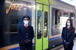 Fase 2, 966 passeggeri calabresi in viaggio ieri sui treni regionali
