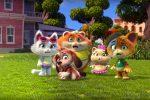 """Tornano i """"44 gatti"""", in onda i nuovi episodi del cartone animato rivelazione della tv"""