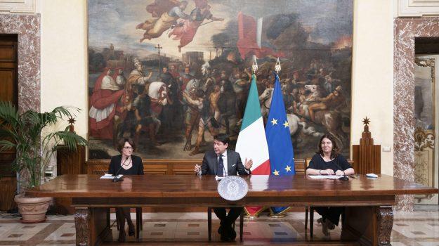 family act, Giuseppe Conte, Sicilia, Economia