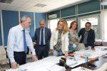Messina, l'assessore Falcone in visita al Cas e agli svincoli di Giostra