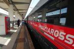 Frecciarossa Torino-Reggio, arriva in anticipo il primo viaggio della storia