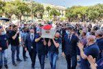 I funerali di Milena Visalli a Messina, il rombo dei motori e la bara bianca