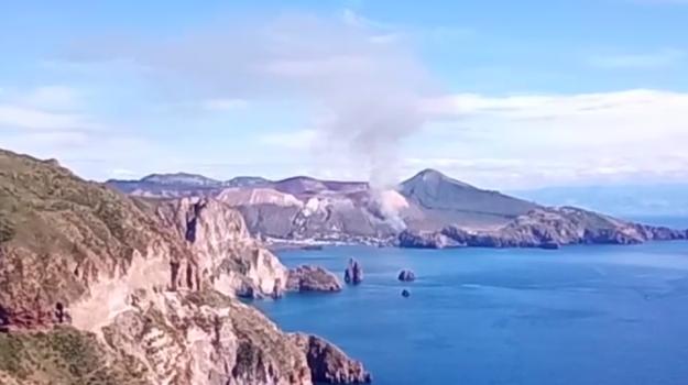 incendio, vulcano, Messina, Sicilia, Cronaca