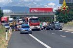 Bambine morte nell'incidente ad Arezzo, arrestato per omicidio stradale il padre