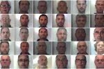 Maxi processo alla 'ndrangheta della Locride: quasi mille anni di carcere per i 67 condannati - Nomi e Foto
