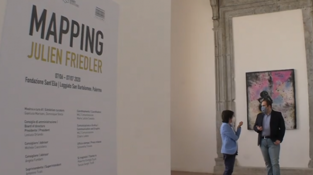 A Palermo la prima mostra dopo l'emergenza, l'inaugurazione di
