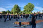 Lega in giunta alla Regione Siciliana, protesta a Palermo davanti all'Ars