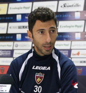 Roberto Occhiuzzi, allenatore del Cosenza