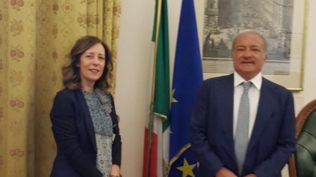 infrastrutture, Salvatore Margiotta, Silvia Vono, Catanzaro, Calabria, Politica
