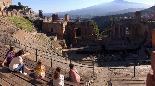 teatro antico taormina, Messina, Sicilia, Cultura