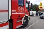Incidente frontale a Catanzaro, coinvolte tre auto: due feriti in ospedale