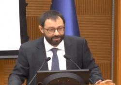 """Alitalia, Patuanelli: """"In cassa 232 milioni nonostante il Covid"""" Il ministro dello Sviluppo economico in audizione alla commissione Trasporti della Camera - Ansa"""