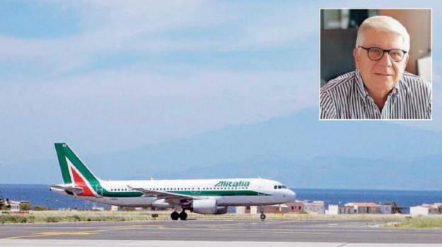 aeroporto reggio, alitalia, Reggio, Calabria, Economia