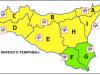 Maltempo in Sicilia, domani piogge e venti forti: allerta gialla anche a Messina