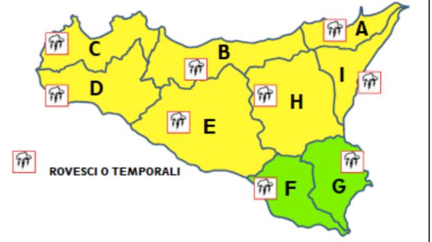 allerta gialla, maltempo, Messina, Sicilia, Cronaca