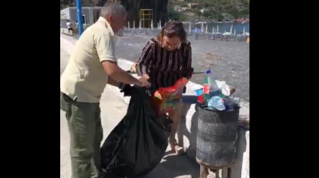 rifiuti, san nicola arcella, Barbara Mele, Cosenza, Calabria, Cronaca