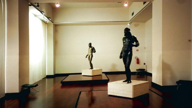 bronzi di riace, museo, Reggio, Calabria, Cultura