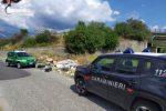 Scoperta a Casignana una discarica abusiva: sanzionate 4 persone